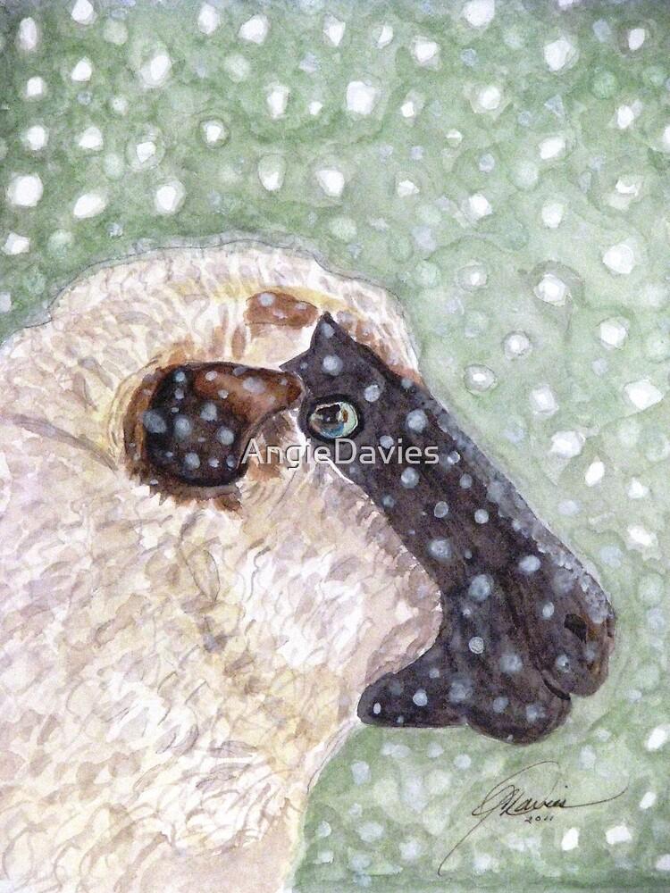 Wishing Ewe a White Christmas! by AngieDavies