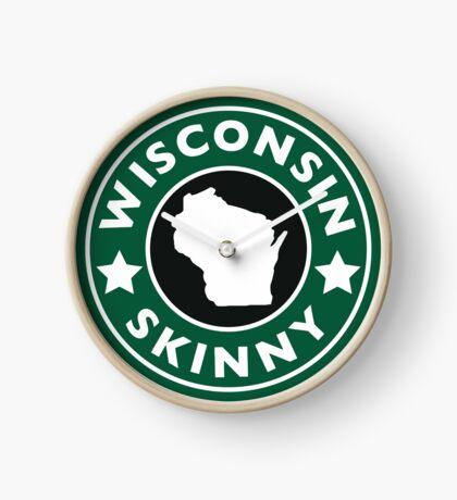 Wisconsin Skinny Caffeine Clock