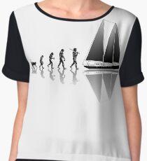 Sailing Evolution Chiffon Top