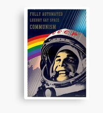Fully Automated Luxury Gay Space Communism Canvas Print