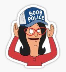 Linda Belcher - Boob Police  Sticker