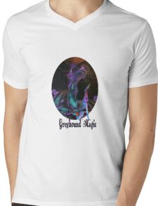 Greyhound Magic Mens V-Neck T-Shirt