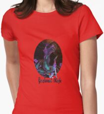 Greyhound Magic Womens Fitted T-Shirt