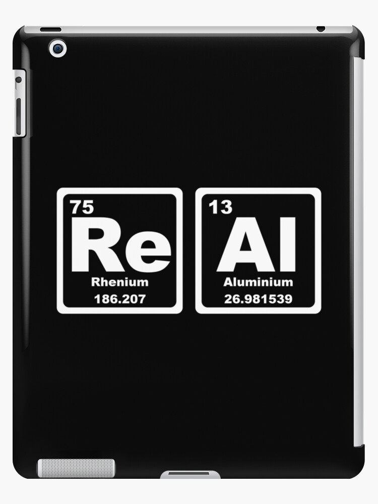 Real Periodic Table Ipad Cases Skins By Graphix Redbubble