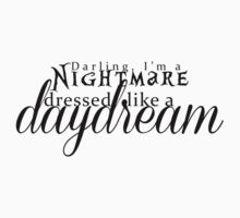 Blank Space - Darling I'm a Nightmare Dressed As A Daydream  | Unisex Tank Top
