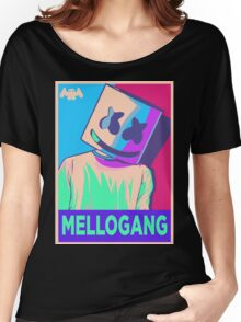 Marshmello Mellogang Neon Women's Relaxed Fit T-Shirt