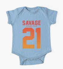 21 Savage Jersey  One Piece - Short Sleeve