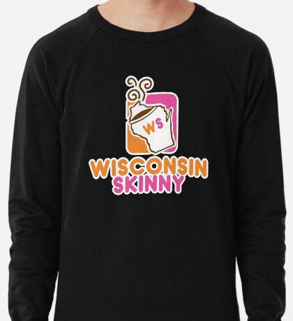 Wisconsin Skinny Mmmmm Lightweight Sweatshirt