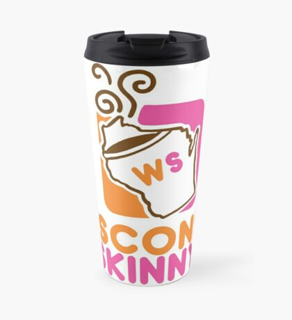 Wisconsin Skinny Mmmmm Travel Mug