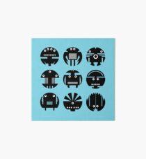 BLUE ROBOTS Art Board