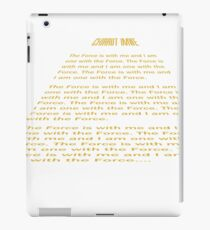 One with the Force.. iPad Case/Skin