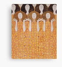 Beethoven Frieze by Gustav Klimt Canvas Print