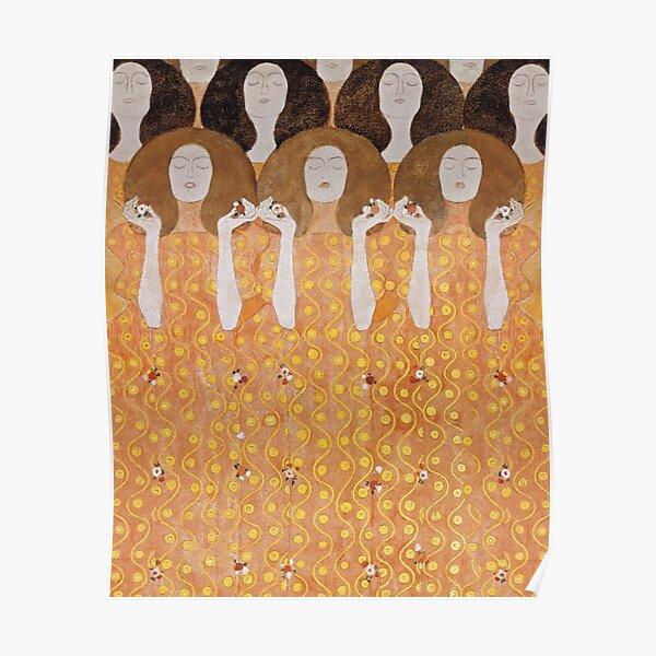 Beethoven Frieze by Gustav Klimt Poster