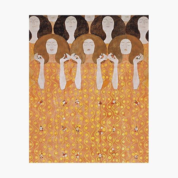 Beethoven Frieze by Gustav Klimt Photographic Print