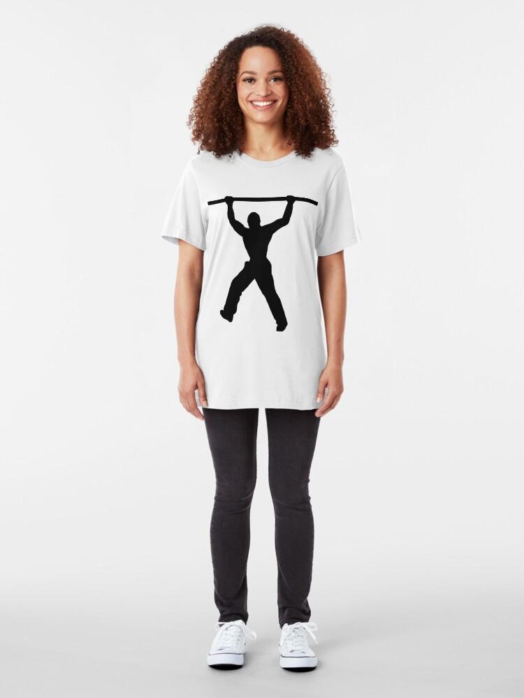 Alternate view of Calisthenics Slim Fit T-Shirt