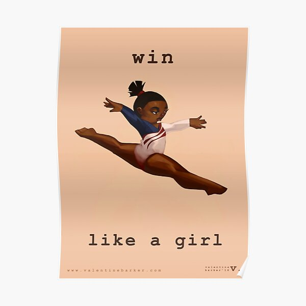 Win Like a Girl Poster