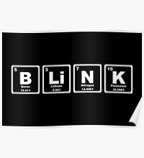 Blink - Periodic Table Poster