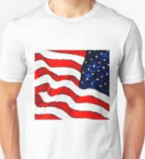 """""""Old Glory""""--the Flag of the United States of America T-Shirt"""