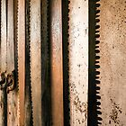 Relics from Rural Australia - Retired Rusted Cross Saws by Lexa Harpell