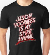 Jason Voorhees Is My Spirit Animal Unisex T-Shirt