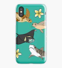Hawaiian Ocean Critters iPhone Case/Skin