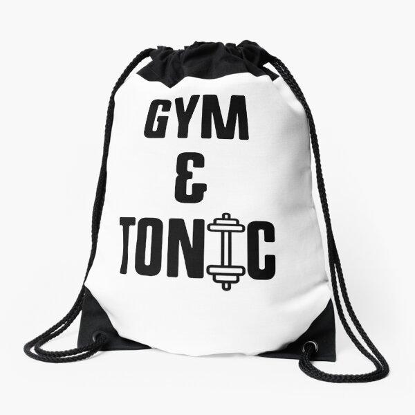 Meow Cute Cat Kitten PE Gym Bag Printed Drawstring Fitness Sport Workout School