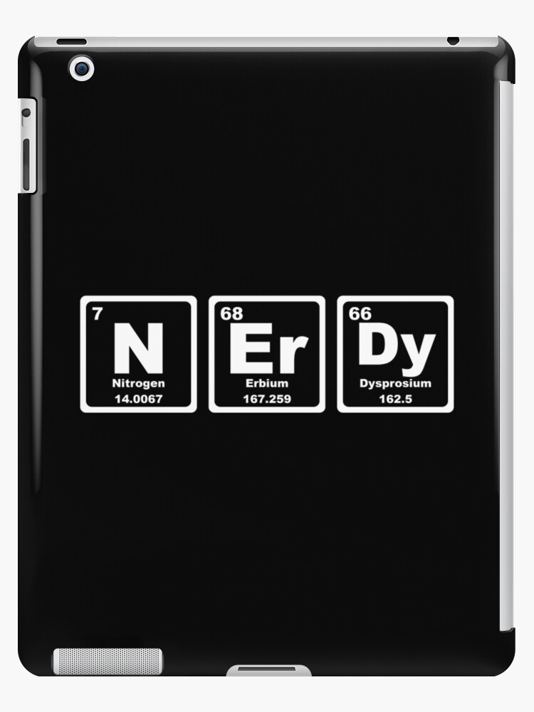Nerdy - Periodic Table by graphix