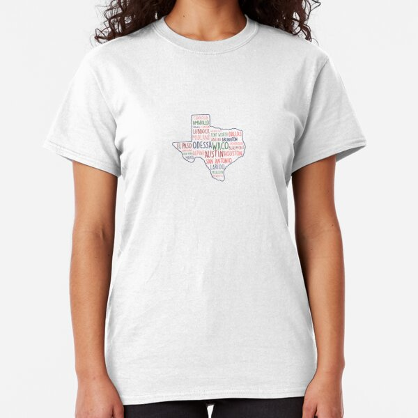 Texas Cities State Home Classic T-Shirt