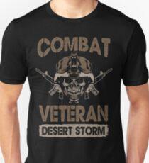 Combat Veteran Desert Storm - Veteran Shirt Unisex T-Shirt