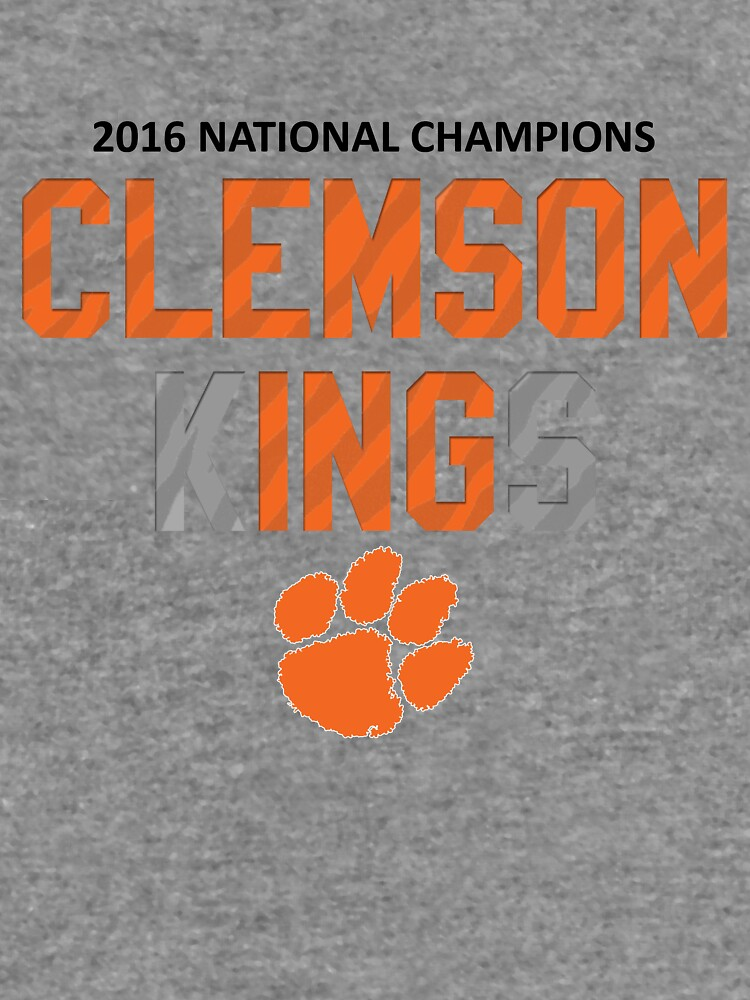 Clemson Kings Clemsoning Lightweight Hoodie By Jasonkwheeler