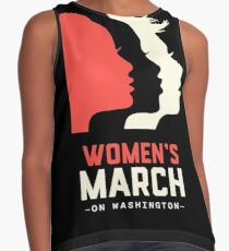 Women's March on Washington 2017 Official Contrast Tank