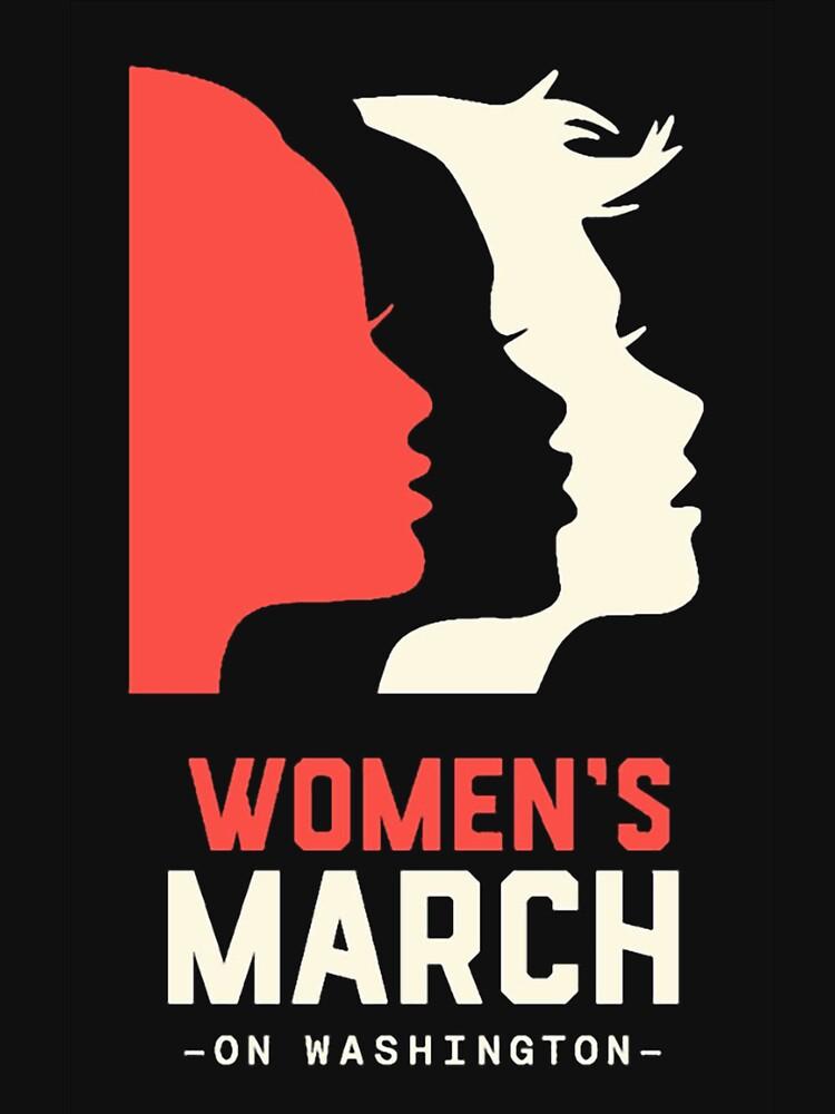 TShirtGifter presents: Women's March on Washington 2017 Official | Unisex T-Shirt