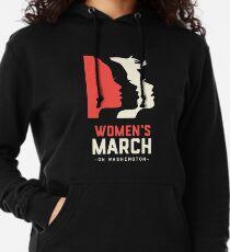 Frauen März auf Washington 2017 Offizieller Leichter Hoodie