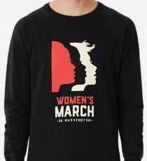 Frauen März auf Washington 2017 Offizieller Leichter Pullover