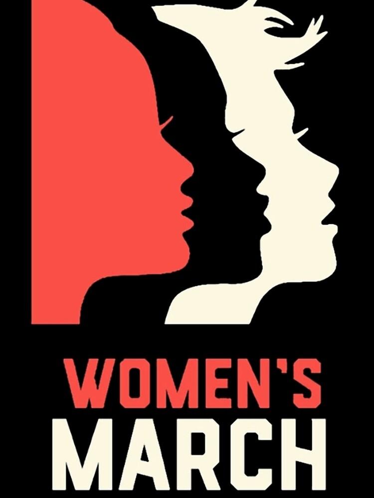 Frauen März auf Washington 2017 Offizieller von VeronicaEvans