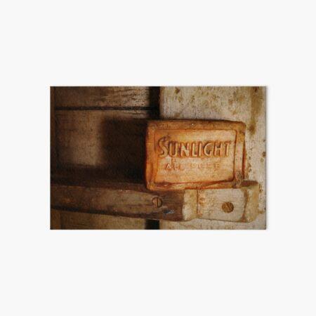 Relics from Rural Australia - Sunlight Soap Art Board Print