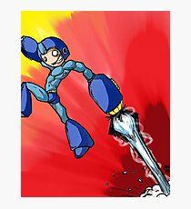 Megaman!  Photographic Print