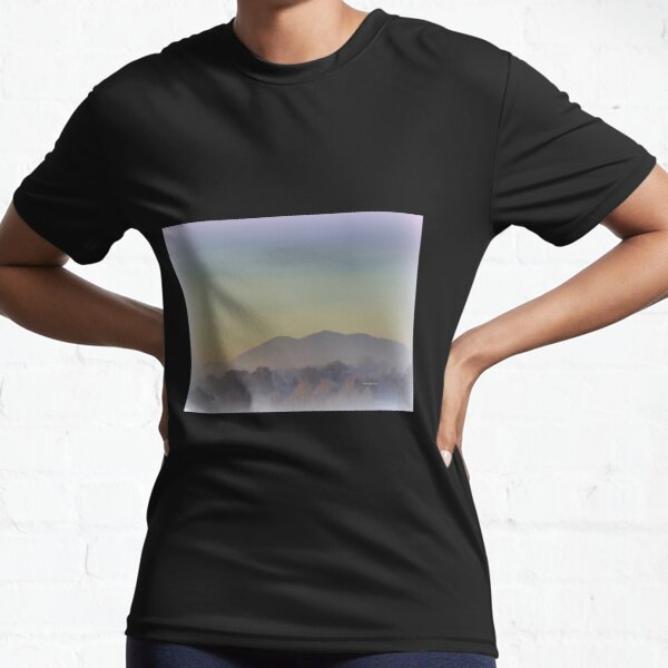 Frosty Morning in Malvern Hills Active T-Shirt