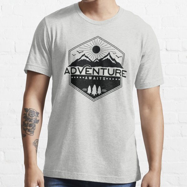 Adventure Awaits Essential T-Shirt