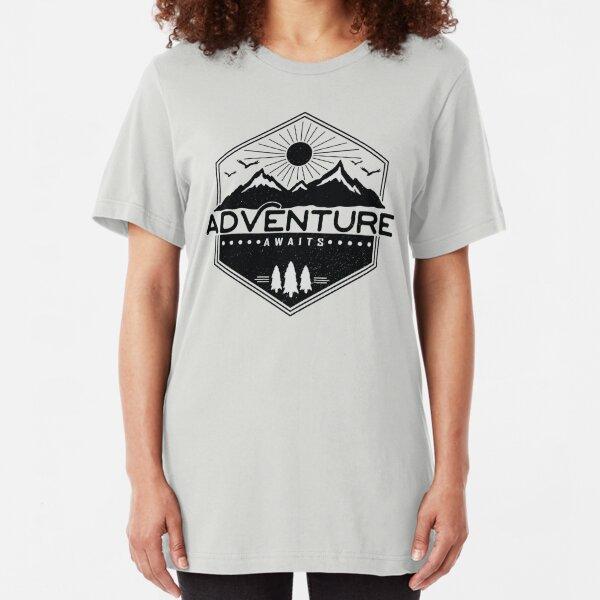 Adventure Awaits Slim Fit T-Shirt