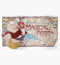 Little Witch Academia Shiny Chariot Poster