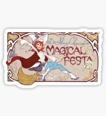 Little Witch Academia Shiny Chariot Sticker
