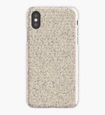 Literature in Print: Shakespeare's Sonnets iPhone Case