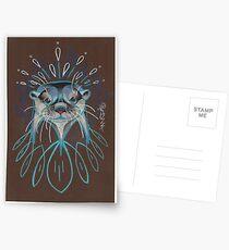 River Otter. Postcards