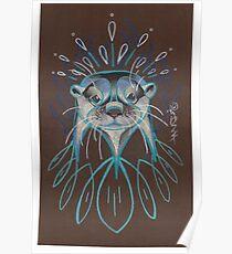 River Otter. Poster