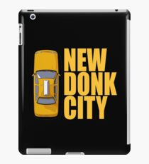 New Donk City Taxi iPad Case/Skin