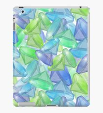 Placer precious stones, yellow , green , blue . iPad Case/Skin