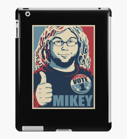 MIKEY For PRESIDENT iPad Case/Skin
