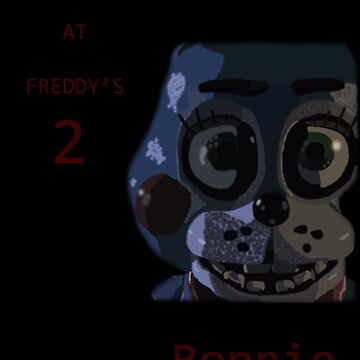 Five Nights at Freddy's 2 Bonnie fan made picture by SuperKonata
