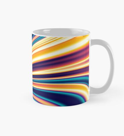 Color and Form Abstract - Solar Gravity and Magnetism 5 Mug